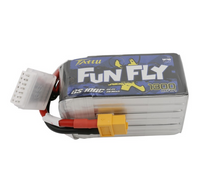 Tattu FunFly 1300mAh 100C 22.2V 6S1P Lipo Battery Pack