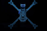 UMMAGAWD THE REMIX V2 FPV FREESTYLE FRAME (WARRAGP BLUE)