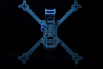 THE REMIX V2 FPV FREESTYLE FRAME (WARRAGP BLUE)