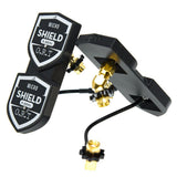 ORT Quad Shield PRO 5.8GHz Quad Patch Receiver Antenna Set for DJI Goggles - LHCP