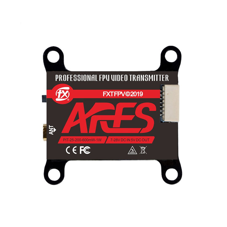 FXT ARES 5.8GHz PIT/25mw/200mw/600mw/1W VTX w/ Smart Audio (US VERSION)
