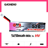 GNB 1S 520mah HV 3.8V 80C PH2.0 Lipo Battery