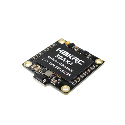 Hakrc 30A 4in1 ESC BLHeli_S BB2 2-5S Dshot600 Built-in 5V 3A BEC - 30x30mm