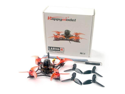 Happymodel Larva X 2-3S BNF 2.5 Inch Micro Drone (CHOOSE RX TYPE)