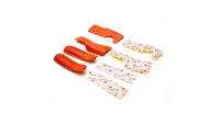 Orange Grip Set with Tape: iX12