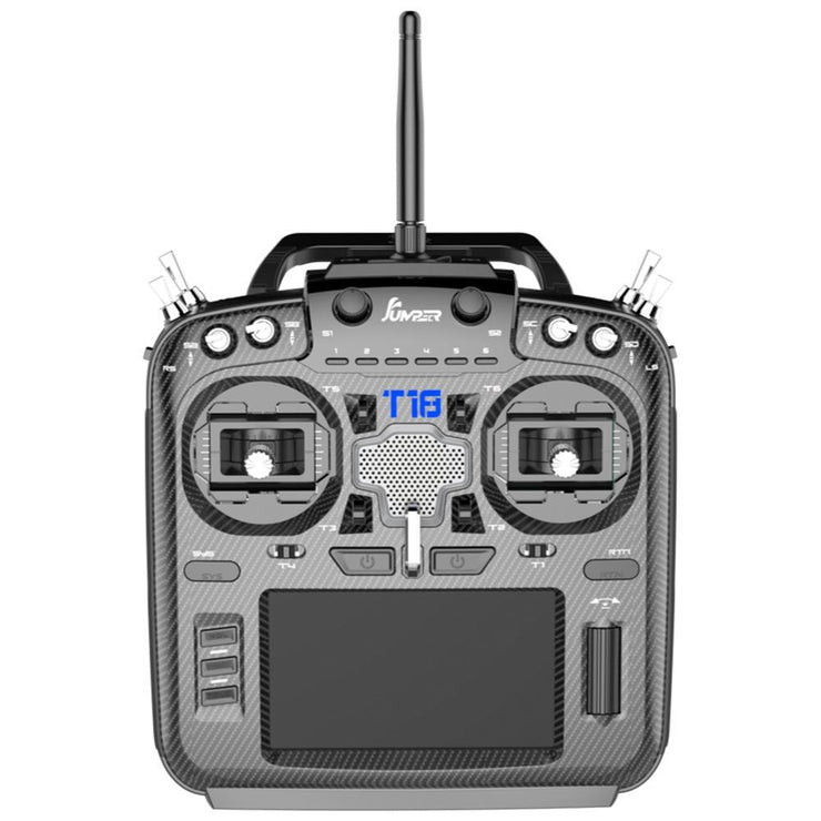 Jumper T18 JP5-in-1 Multi-Protocol RF Module OpenTX RC Transmitter w/ Hall Gimbals & Carbon Faceplate