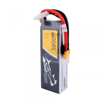 Tattu 5200mAh 14.8V 35C 4S1P Lipo Battery Pack with XT60 Plug