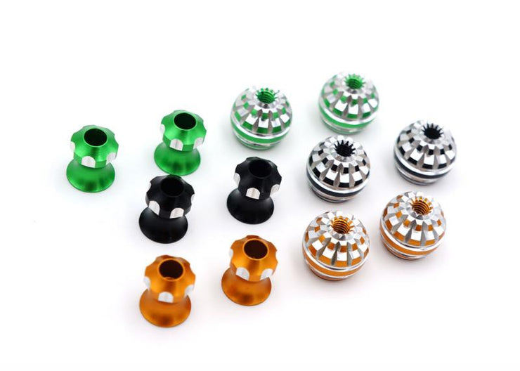 TBS HONEY STICK ENDS M3 (CHOOSE COLOR)