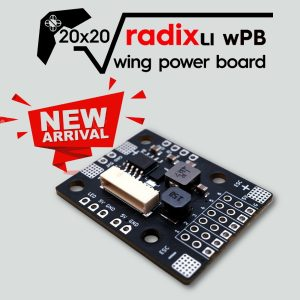 RADIX LI 20x20 Wing Power Board