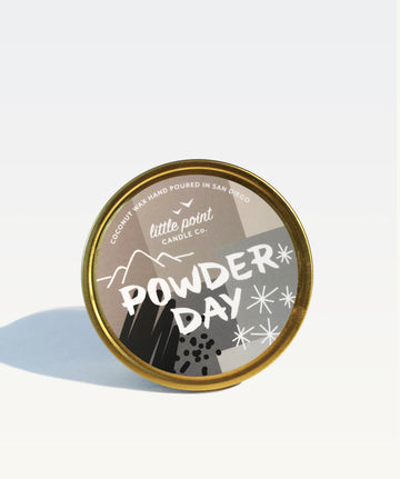 Powder Day | Little Point Candle Company