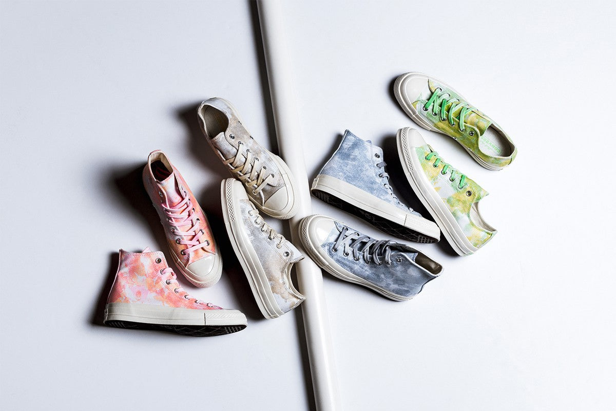 Converse Revisits the Tie-Dye Trend With New Women's Pack of Chucks