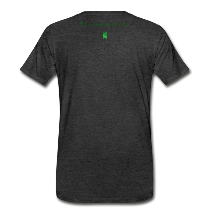 Men's Premium T-Shirt Hector - charcoal gray