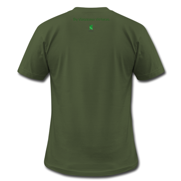 Hector Men's  Jersey T-Shirt - olive