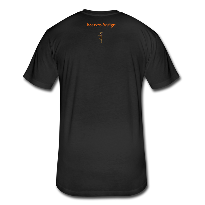 Fitted Cotton/Poly T-Shirt by Next Level - Fly - black