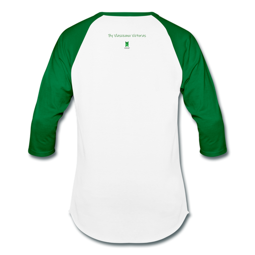 Hector Baseball T-Shirt - white/kelly green