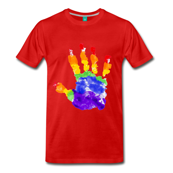 Men's Premium T-Shirt - Pride - red