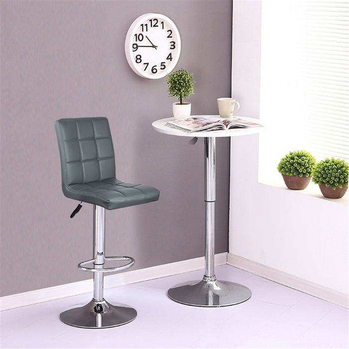 2pcs High Quality Home Bar Chair Fashion Design Adjustable Swivel Bar Pub Stool Chair For Living Room Funiture Decoration HWC