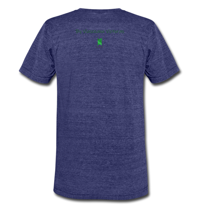 Hector Unisex Tri-Blend T-Shirt - heather indigo