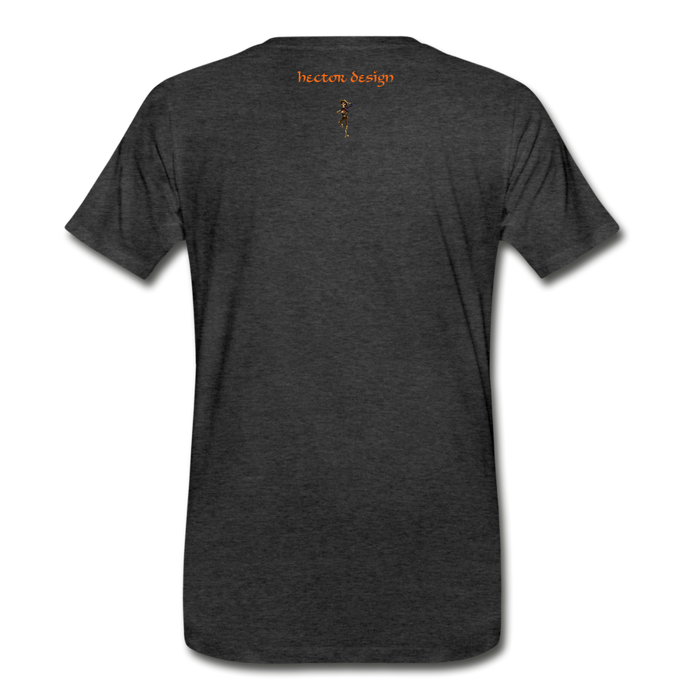 Men's Premium T-Shirt - Fly - charcoal gray
