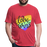 Fitted Cotton/Poly T-Shirt by Next Level - Love Wins Pride - heather red