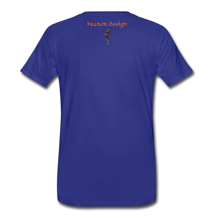 Men's Premium T-Shirt - Butterfly - royal blue
