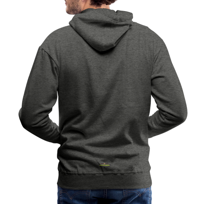 Men's Premium Hoodie - Stronger - charcoal gray