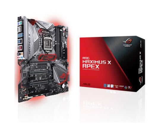 ASUS ROG MAXIMUS X APEX M10A Z370 player country motherboard for liquid nitrogen overclocking