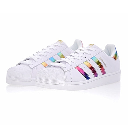 Adidas Superstar Gold Label Original Women Skateboarding  Shoes Non-Slip Lightweight Breathable Sneakers #BB2146 S81015