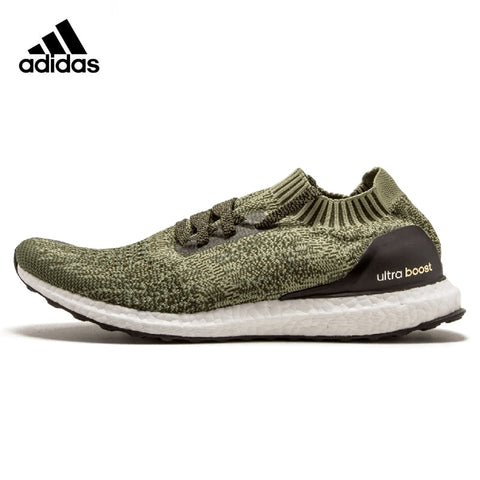 836533da684 Adidas Ultra BOOST Uncaged Original Men Running Shoes Sports Outdoor Army  Green Lightweight Breathable Sneakers