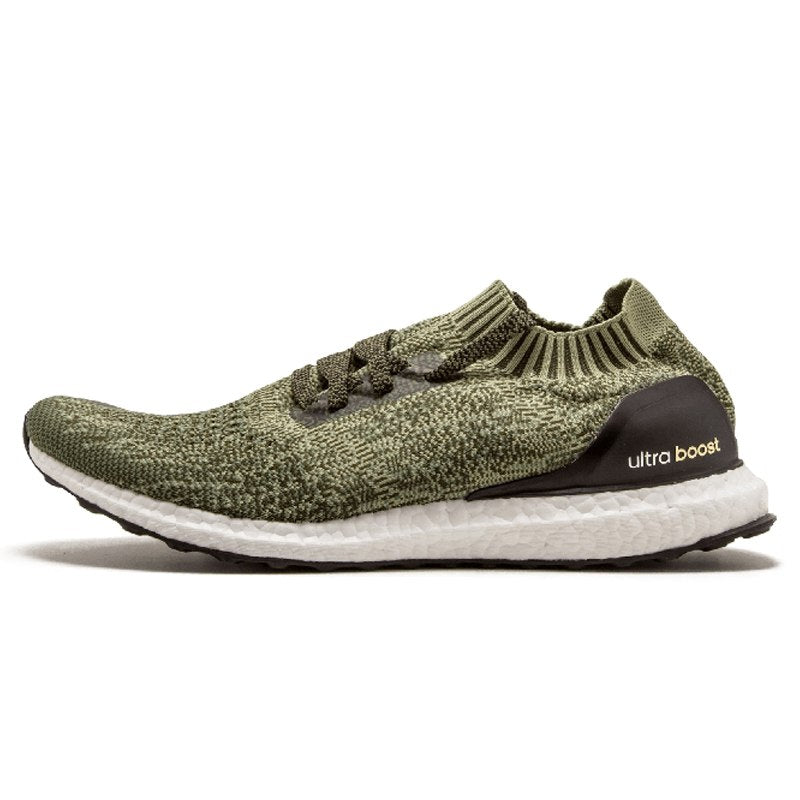 Adidas Ultra BOOST Uncaged Original Men Running Shoes Sports Outdoor Army  Green Lightweight Breathable Sneakers   0faa77b39ae7