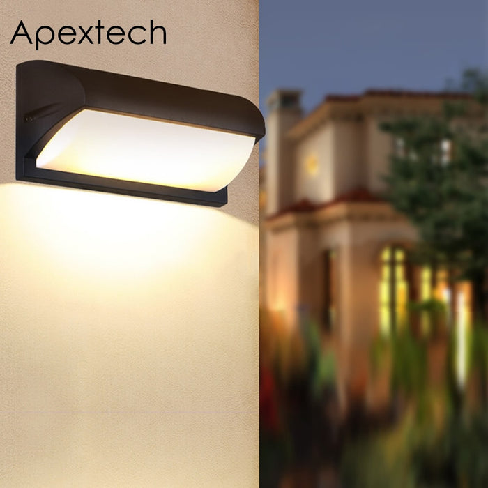 Apextech LED Wall Lamp 18W 30W Waterproof Outdoor Wall Light For Garden Courtyard Patio Villa Home Lighting Decoration AC85-265V