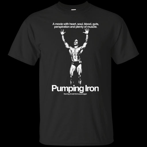 Arnold Schwarzenegger, Pumping Iron, Movie, Body Building, Weightlifting, Harajuku Tops Fashion Classic Unique t-Shirt