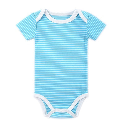 Baby Bodysuit 2018 Fashion Heart Printed Pattern Toddler Ropa Baby Pajamas Body Suit Summer Newborn Baby Clothing
