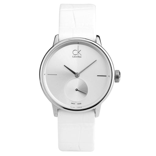 CalvinKlein ACCENT Series Women's Watch Small Three-Piece Quartz Watch  K2Y231K6