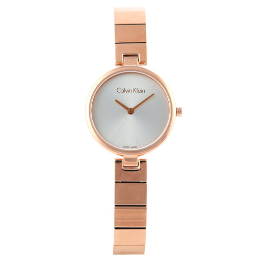 CalvinKlein AUTHENTIC Collection Fashion Rose Gold Quartz Women's Watch  K8G23646