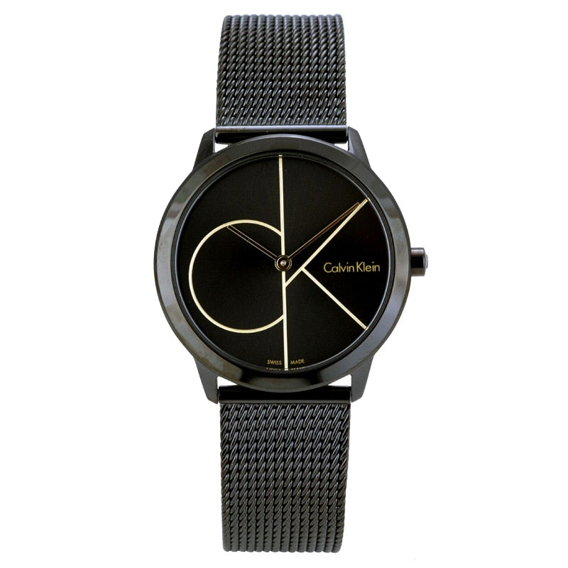 CalvinKlein MINIMAL Series Quartz Men's and Women's Watches K3M224X1