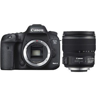 Canon EOS 7D Mark II DSLR Camera Body with EF-S 15-85mm f3.5-5.6 IS USM Lens