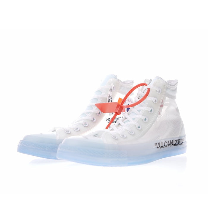 Converse All Star OFF WHITE 1970s High Top Skateboarding Shoes Unisex Canvas Anti-Slippery Sneakser