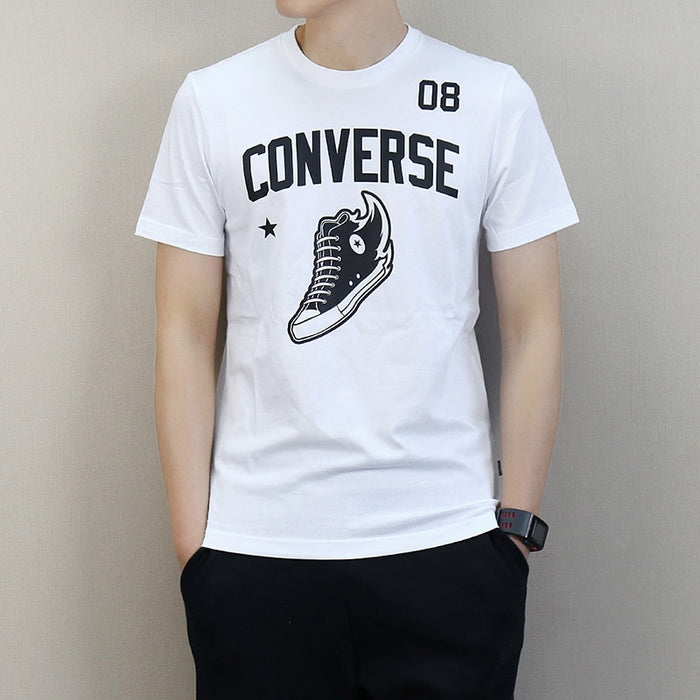 Converse All Star Running T-shirt Short Sleeve Breathable Cotton Sports Shirts10007853