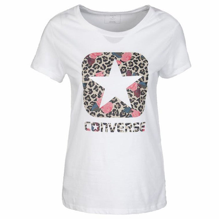 Converse Woman Breathable Running T-shirt Comfortable Short Sleeve Sport Shirts #10005251 100075381 10007536 10007542 10007538