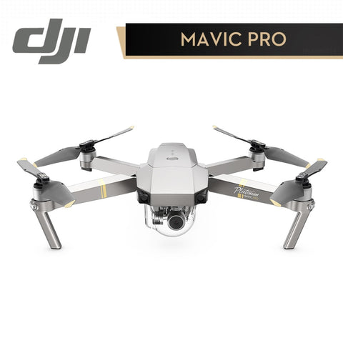 DJI Mavic Pro Platinum Drone 7KM Contro Range 4dB Noise 1080P Camera Drone with 4K Video RC Helicopter FPV Quadcopter