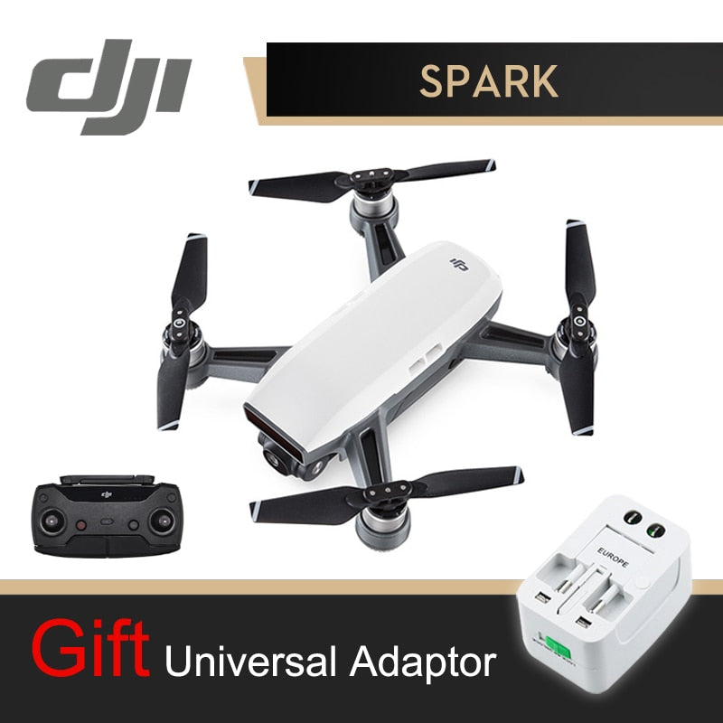 DJI Spark Camera Drone With Controller White 1080P HD Camera Drones Quadrotor RC FPV Quadcopter Sparks Original