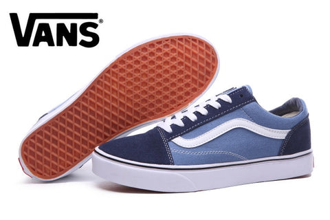 Free Shipping vans Old Skool Classic Mens Unisex Sneakers vans shoes e4135bae0cb4