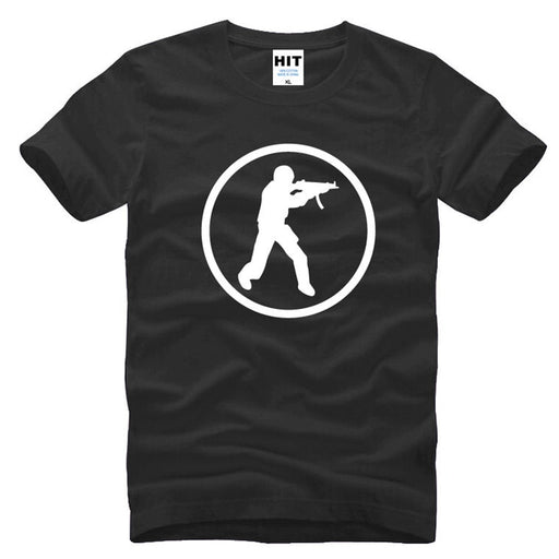 Game Counter Strike CS Novelty Mens Men T Shirt T-shirt 2016 New Short Sleeve O Neck Cotton Tshirt Tee Camisetas Masculina 1
