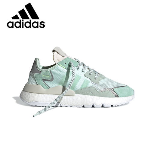 Genuine Adidas Nite Jogger Unisex Running Reflective Sports Shoes Sneakers Mens Womens Outdoor Footwear 2019 New F33837