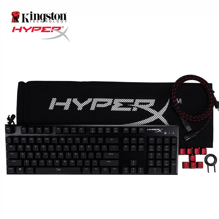 HyperX Alloy FPS Pro Mechanical Gaming Keyboard Backlight LED 100 per cent anti-ghosting and full N-key rollover functions