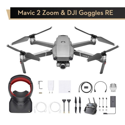 In Stock DJI Mavic Pro 2 Zoom Dolly Zoom Camera Drone 48MP 2X Optical Zoom Hyperlapse RC Helicopter FPV Quadcopter Original