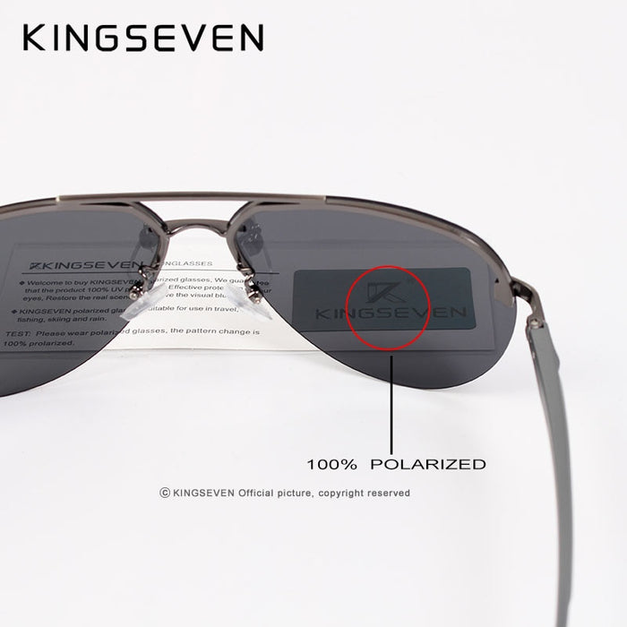 KINGSEVEN 2019 Upgrade Quality Men's Sunglasses Women Polarized Driving Mirror Sun Glasses UV400 oculos de sol for Men