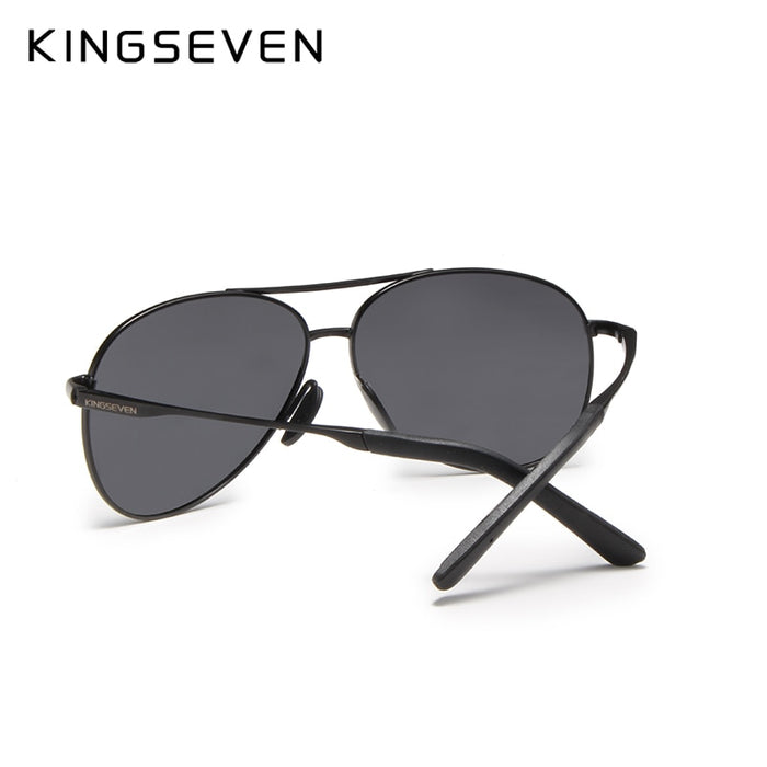 KINGSEVEN Brand New Sunglasses Men Glasses Driving Reflective Coating Lens Eyewear Accessories Sun Glasses Oculos