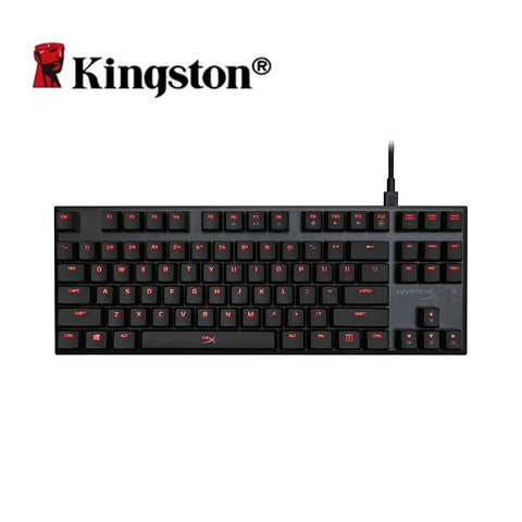 Kingston HyperX Alloy FPS Pro Mechanical Keyboard Cherry MX Gaming Keyboards Backlight LED Anti-ghosting Full N-key Rollover